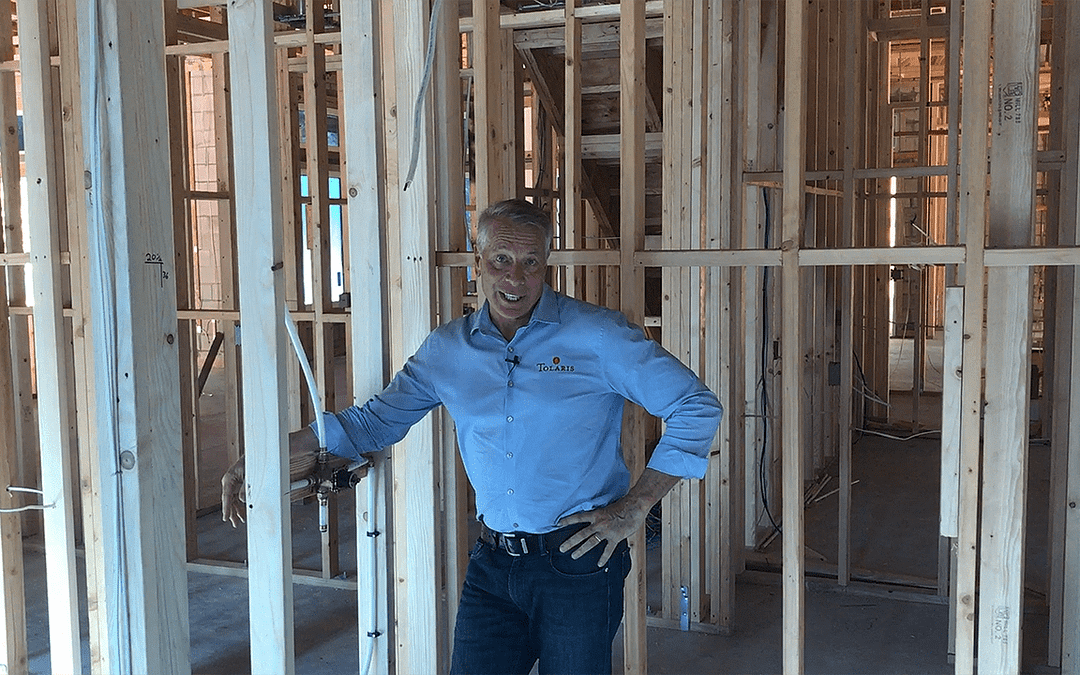 Rough Plumbing behind your Drywall