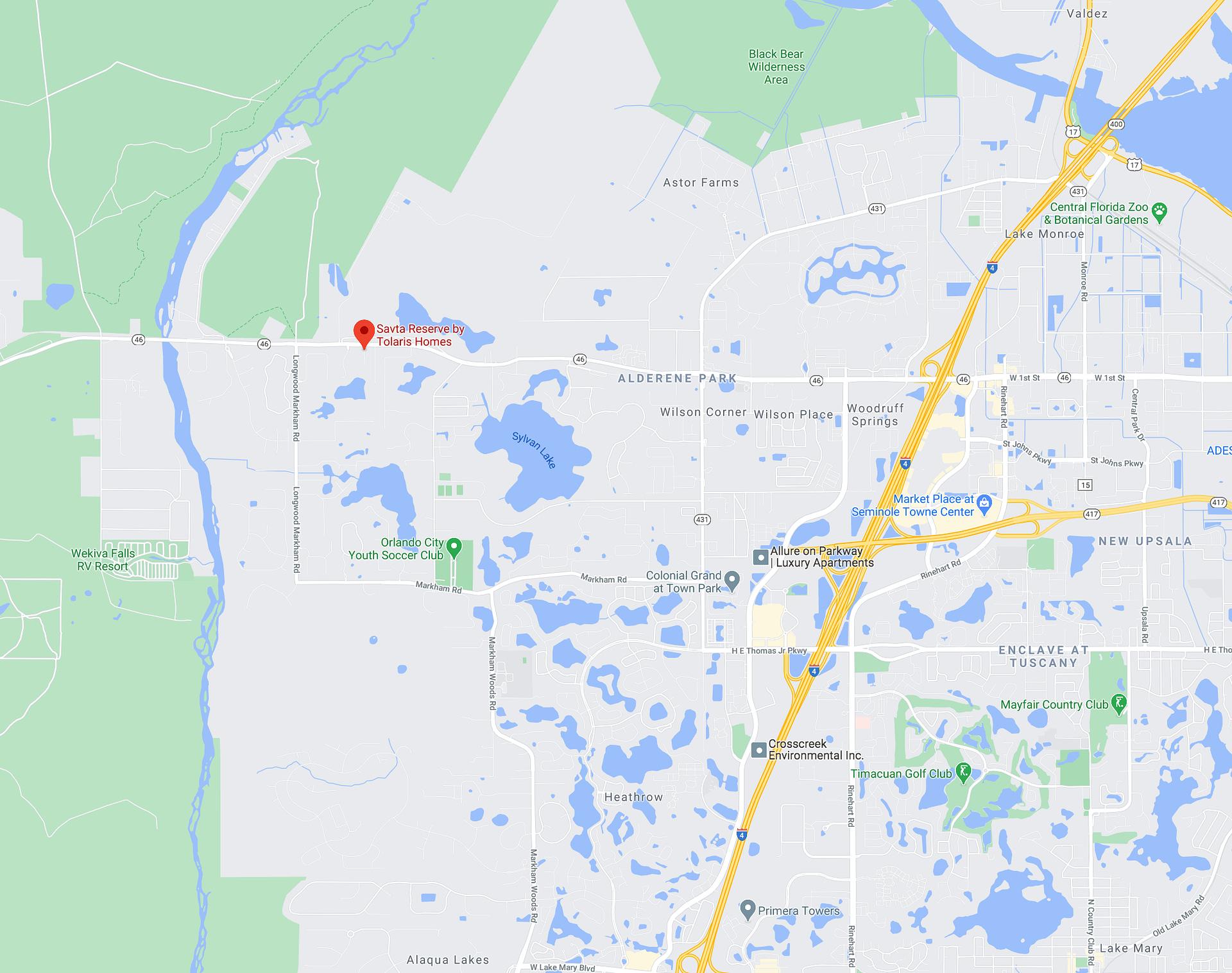 Savta Reserve Map